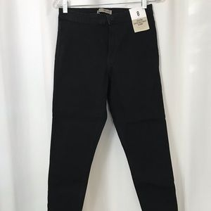 Black Primark super high waist skinny jeans NWT